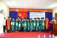Lễ tốt nghiệp cử nhân khoá học 2011-2015