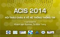 ACIS lần thứ ba sẽ diễn ra tại khách sạn Sunrise Nha Trang các ngày 1, 2, 3 tháng 12/2014