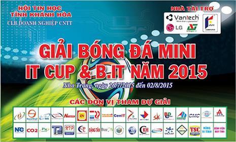 Giải bóng đá B.IT Cup lần thứ VI - IT Cup lần thứ VII năm 2015