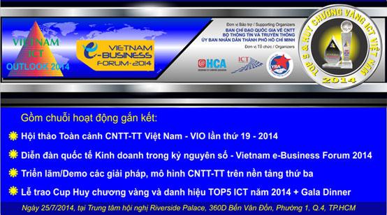 Hội thảo toàn cảnh CNTT - TT VIO 2014
