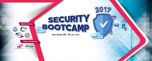 DIỄN ĐÀN SECURITY BOOTCAMP 2017