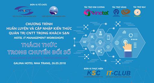 Chương trình huấn luyện Hotel ITM Workshops 2018